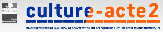 Remise du rapport de Pierre Lescure «Acte II de l'exception culturelle à l'ère du numérique»